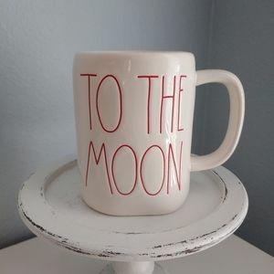 NEW➡Rae Dunn TO THE MOON AND BACK Mug